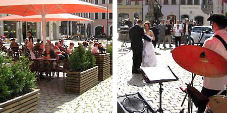gruppe dixiewelt mit life musik auf dem geraer markt gera. Black Bedroom Furniture Sets. Home Design Ideas