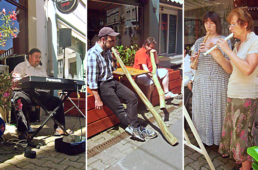 """Gruppe """"Dixiewelt"""" mit Life-Musik auf dem Geraer Markt - Gera"""